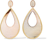 Kenneth Jay Lane Resin drop earrings