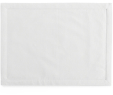 Hotel Collection Linen Modern White Placemat