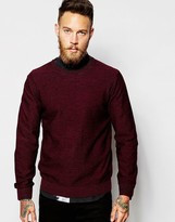 Ps By Paul Smith Jumper With Marl - Red