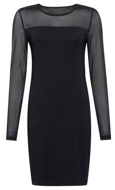 Dorothy Perkins Womens Vero Moda Black Short Dress, Black