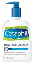 Cetaphil Normal to Oily Skin Daily Facial Cleanser 16 oz