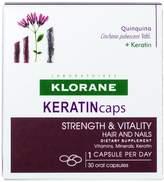 Klorane Keratincaps Strength And Vitality Hair And Nails 30caps