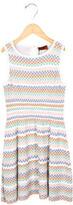 Missoni Girls' Patterned A-Line Dress w/ Tags