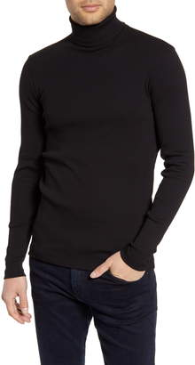 BOSS Tenore Cotton Turtleneck Sweater