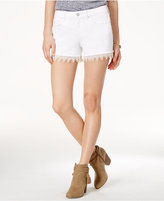 Jessica Simpson Crochet-Trim Denim Shorts