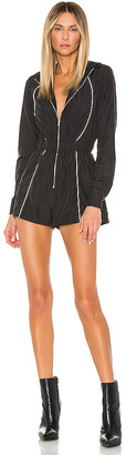 superdown Alea Zip Front Romper