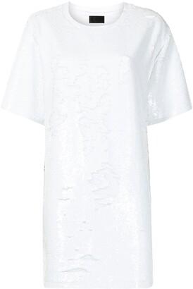 RtA Romy sequined T-shirt dress