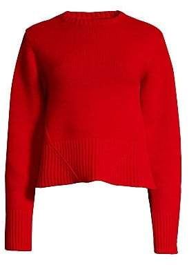 KHAITE Women's Angie Long-Sleeve Cashmere Sweater