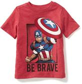 Old Navy Marvel Comics Captain America Graphic Tee for Toddler