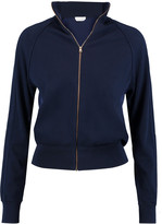 Chloé Paneled silk and cotton-blend cardigan