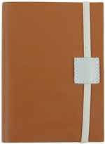 Undercover Recycled Leather Notebook - Caramel - A6 Lined