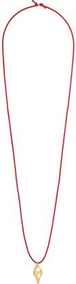 Alighieri 24kt gold-plated Painter's Lantern necklace