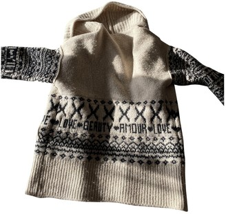 Sonia Rykiel Ecru Wool Knitwear for Women