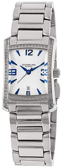 Stuhrling Original Gatsby High Society II 145TS.12112 Stainless Steel 23mm x 29mm Watch