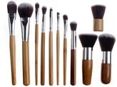 Bliss & Grace Professional 11-Piece Eco Makeup Brush Set