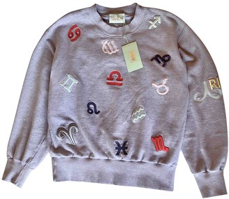 Aries Grey Cotton Knitwear