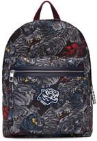 Kenzo Grey Flying Tiger Backpack
