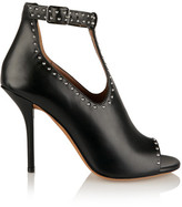 Givenchy Studded Ankle Boots In Black Leather - IT38.5
