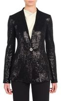 Giorgio Armani Sequin Knit Jacket