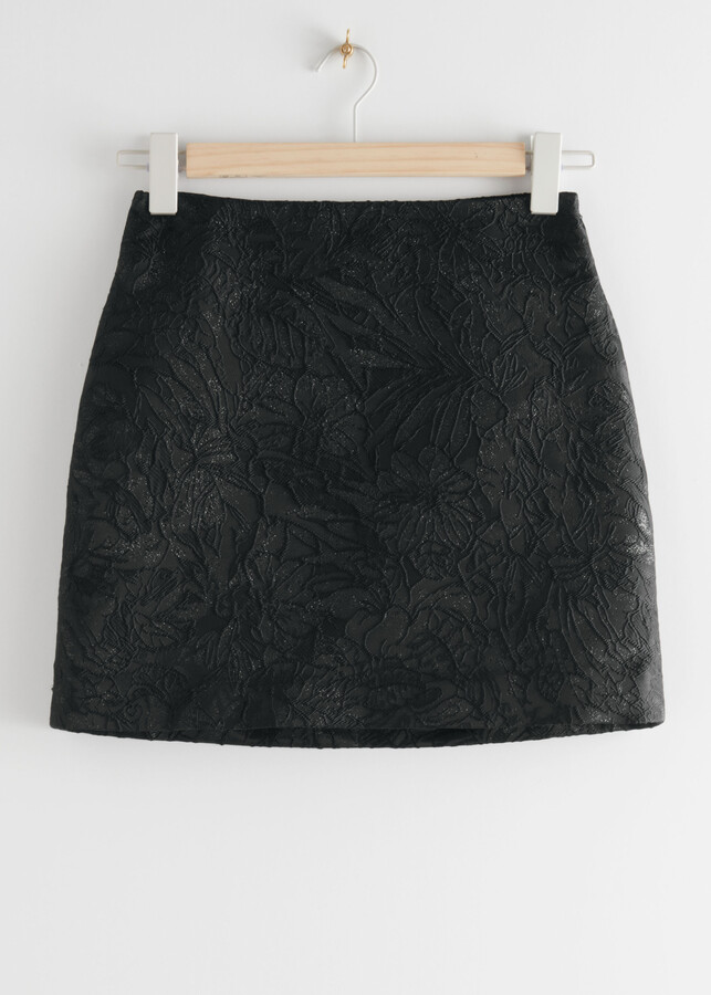 Thumbnail for your product : And other stories Jacquard Mini Skirt