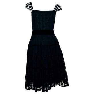 ALICE by Temperley Black Cotton Dresses