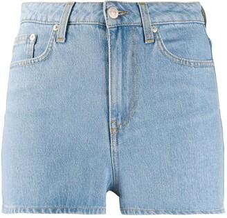 Chiara Ferragni Fitted Denim Shorts