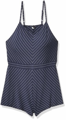 Only Hearts Women's Denim Stripe Playsuit