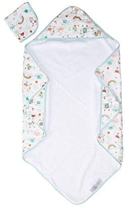 Loulou Lollipop Hooded Towel Set (Llama) Accessories Travel