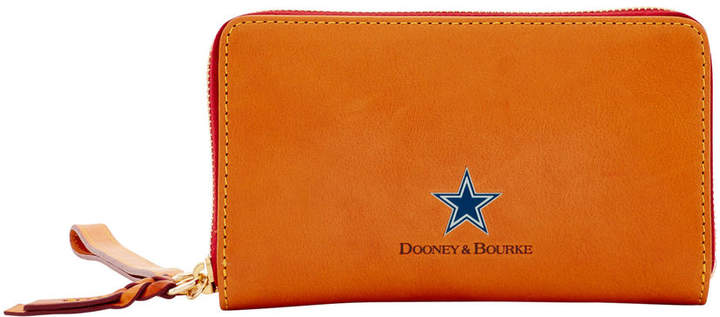 Dooney & Bourke NFL Cowboys Zip Around Phone Wristlet