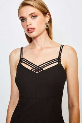 Karen Millen Forever Strappy Pencil Dress