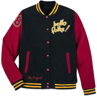 Disney Mickey Mouse and Pluto Varsity Jacket for Adults