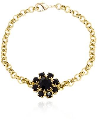 Rosaspina Firenze Florentine Garden Black Bracelet