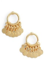 Argentovivo Women's Vermeil Frontal Drop Earrings