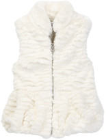Splendid Faux Fur Vest (Baby Girls)