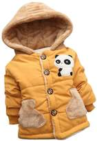 Baby Coat, Perman 2PCS Baby Boys Girls Cute Thick Winter Warm Hooded Coat