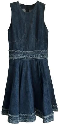 Alexander McQueen Blue Denim - Jeans Dresses