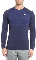 Nike Men's Slim Fit Long Sleeve Dri-Fit Running T-Shirt