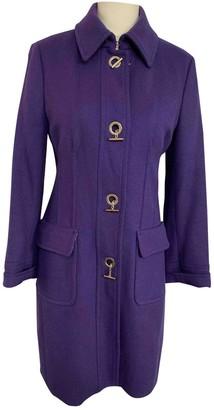 Ballantyne Purple Wool Coat for Women