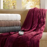 Simmons Ogee Oversized Heated Throw