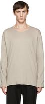 Nude:mm Beige Long Sleeve T-Shirt
