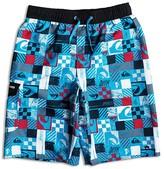 Quiksilver Boys' Square Logo Print Boardshorts - Sizes S-XL