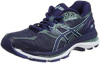 Asics Women's Gel-Nimbus 20 Running Shoes, (Black/Frosted Rose 001)