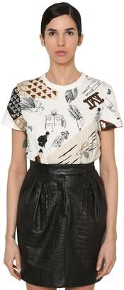 Max Mara Printed Cotton Jersey T-shirt