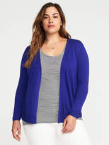Old Navy Plus-Size Open-Front Short Sweater