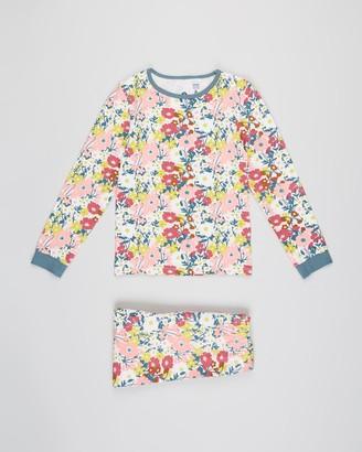 Cotton On Florence Long Sleeve PJ Set - Kids-Teens
