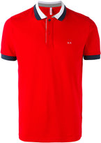 Sun 68 contrast polo shirt - men - Cotton/Spandex/Elastane - S