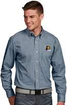 Antigua Men's Indiana Pacers Associate Plaid Button-Down Shirt