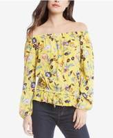 Karen Kane Floral-Print Off-The-Shoulder Blouse