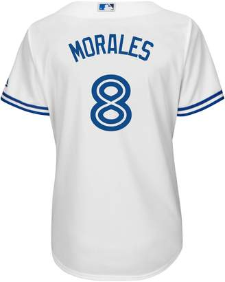 Majestic Kendrys Morales Toronto Blue Jays MLB Cool Base Replica Home Jersey Tee
