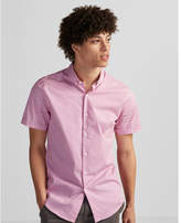 Express fitted dot print easy care 1MX shirt